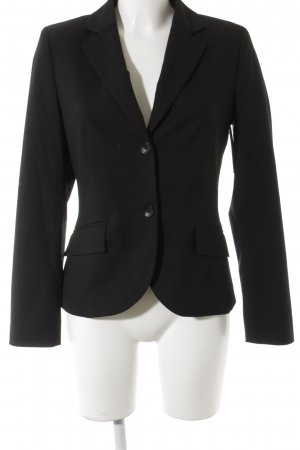 s.Oliver Jerseyblazer schwarz Business-Look