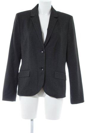 s.Oliver Blazer en jersey blanc-taupe motif à chevrons style d'affaires
