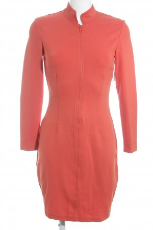 s.Oliver Jersey Dress dark orange casual look