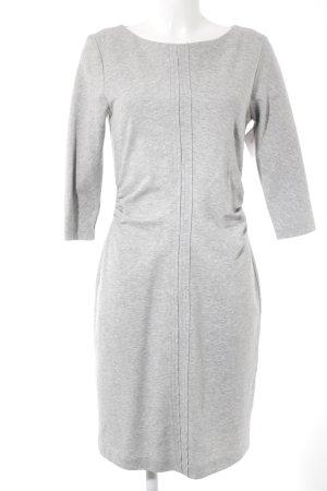 s.Oliver Vestido de tela de jersey gris claro-gris moteado look casual
