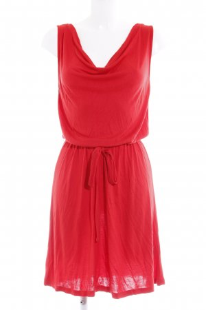 s.Oliver Jerseykleid rot Casual-Look