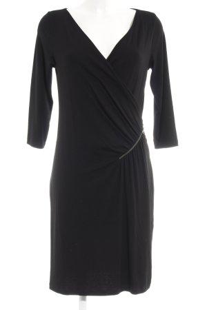 s.Oliver Jerseykleid schwarz schlichter Stil