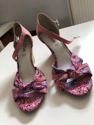 s.Oliver High Heel Sandal multicolored