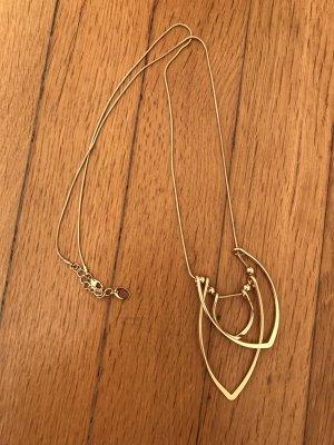 S.oliver Kette lang 46 cm Gold neu