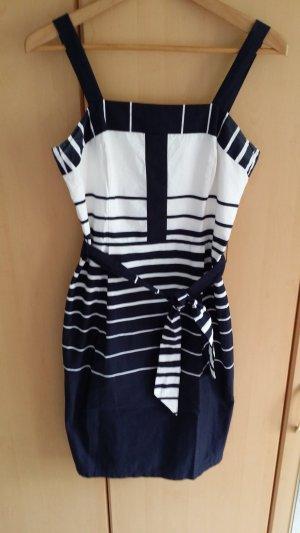 s.Oliver Sheath Dress white-dark blue