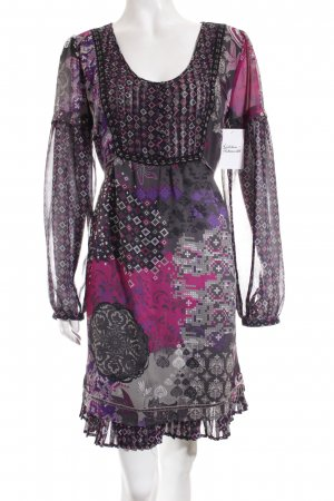 s.Oliver Kleid florales Muster Casual-Look