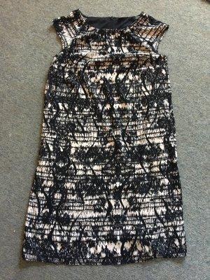 s.oliver Kleid rose schwarz in Größe 38