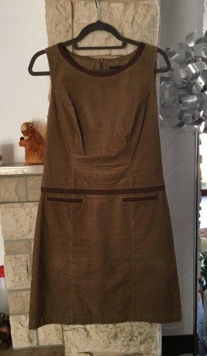 S.OLIVER Kord Kleid 38 Cognac - NP 125€