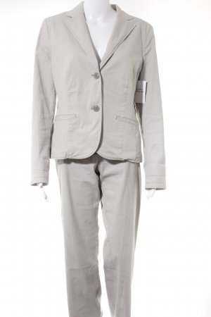 s.Oliver Ladies' Suit oatmeal striped pattern casual look