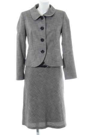 s.Oliver Ladies' Suit light grey-white flecked business style