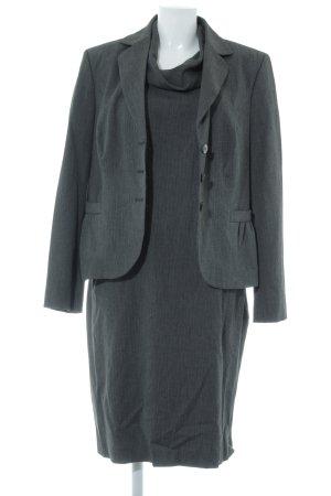 s.Oliver Tailleur nero-grigio puntinato stile professionale