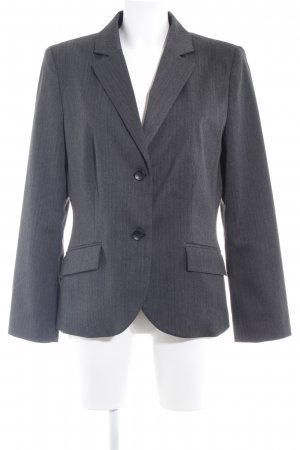 s.Oliver Kurz-Blazer anthrazit Business-Look
