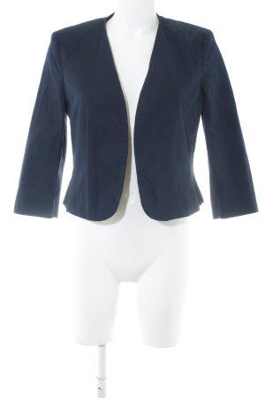 s.Oliver Kurz-Blazer blau Punktemuster Business-Look