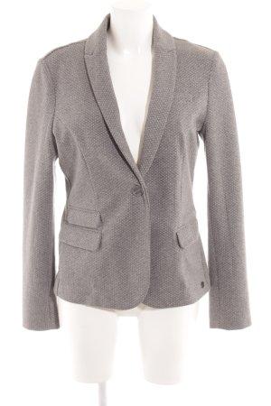 s.Oliver Short Blazer grey-white spot pattern casual look