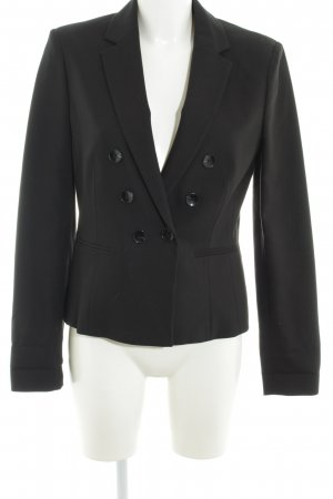 s.Oliver Kurz-Blazer schwarz Business-Look