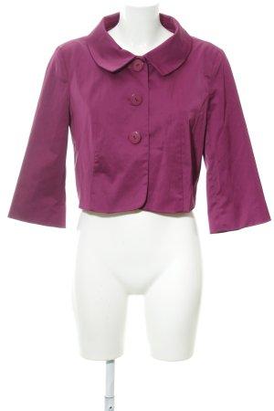 s.Oliver Kurz-Blazer violett Business-Look