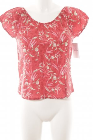 s.Oliver Kurzarm-Bluse florales Muster Casual-Look