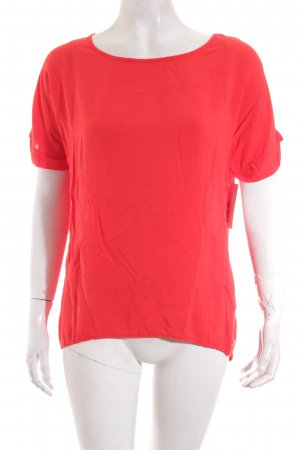 s.Oliver Kurzarm-Bluse rot Casual-Look