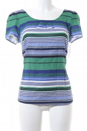 s.Oliver Kurzarm-Bluse Streifenmuster Casual-Look