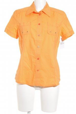 s.Oliver Kurzarmhemd hellorange Casual-Look