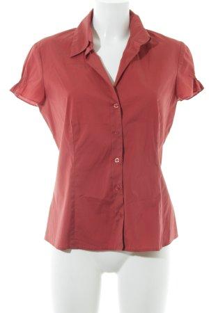 s.Oliver Shirt met korte mouwen rood zakelijke stijl