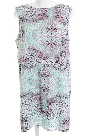 s.Oliver Kurzarmkleid abstraktes Muster Elegant