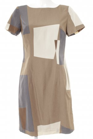 s.Oliver Kurzarmkleid grafisches Muster Casual-Look