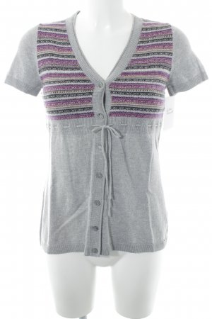 s.Oliver Short Sleeve Knitted Jacket multicolored casual look