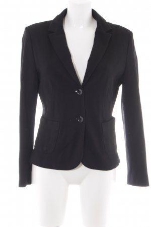 s.Oliver Kurzjacke schwarz Business-Look