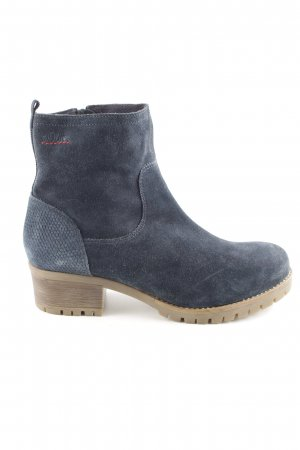 s.Oliver Short Boots blue casual look