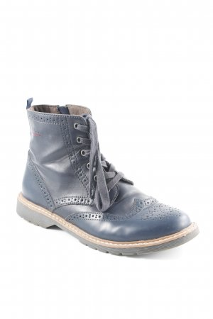 s.Oliver Short Boots dark blue simple style