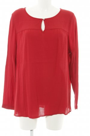 s.Oliver Langarm-Bluse rot Business-Look