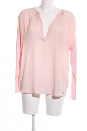 s.Oliver Langarm-Bluse pink Business-Look
