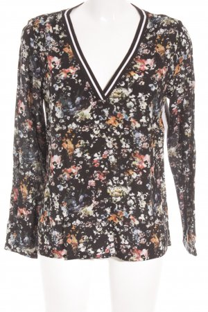 s.Oliver Langarm-Bluse Blumenmuster Country-Look