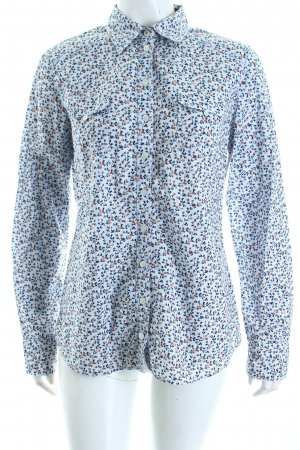 s.Oliver Langarm-Bluse florales Muster Casual-Look