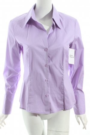 s.Oliver Langarm-Bluse helllila Casual-Look