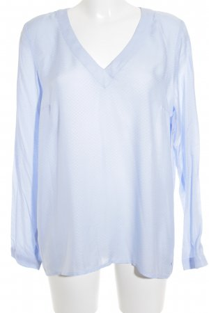 s.Oliver Langarm-Bluse himmelblau Casual-Look