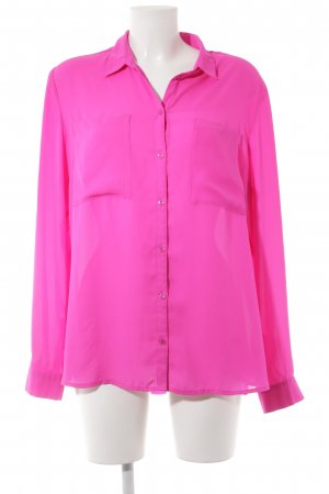 s.Oliver Langarm-Bluse magenta Casual-Look