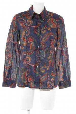 s.Oliver Langarm-Bluse Paisleymuster Casual-Look