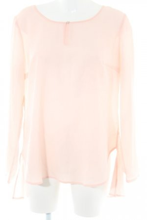 s.Oliver Langarm-Bluse rosé Casual-Look