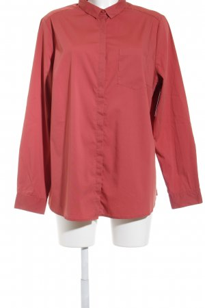 s.Oliver Langarm-Bluse rostrot Casual-Look