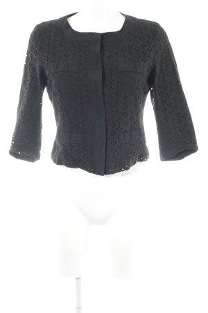 s.Oliver Langarm-Bluse schwarz schlichter Stil