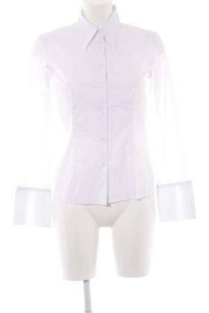 s.Oliver Langarm-Bluse weiß klassischer Stil