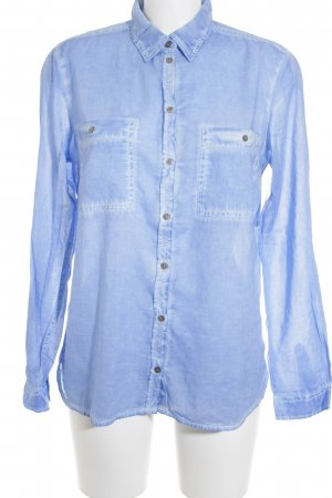 s.Oliver Long Sleeve Shirt blue casual look