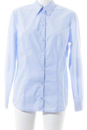 s.Oliver Camisa de manga larga azul celeste look casual