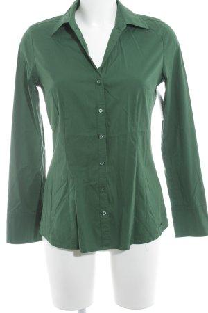 s.Oliver Langarmhemd waldgrün klassischer Stil