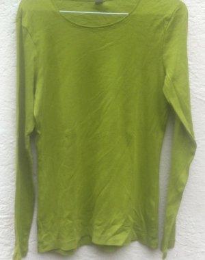 Manica lunga verde prato Cotone