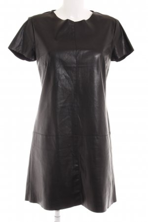 s.Oliver Leather Dress black party style
