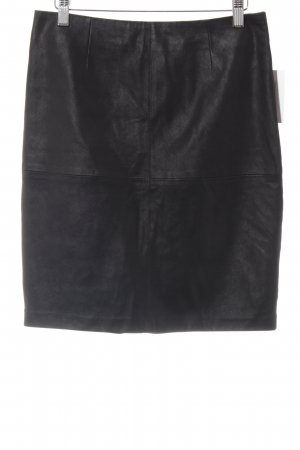 s.Oliver Leather Skirt black elegant