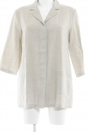 s.Oliver Blouse en lin beige clair style campagnard